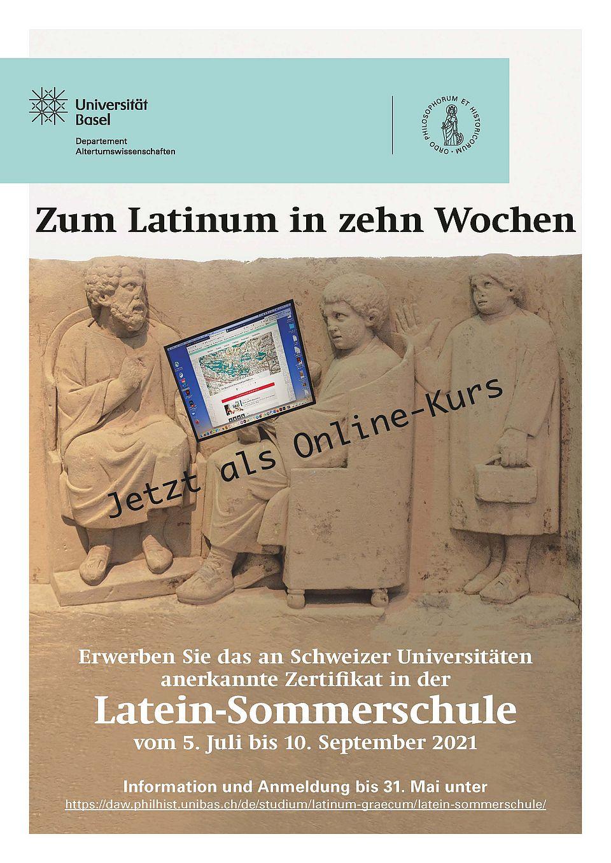 Flyer Latein-Sommerschule